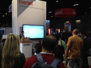 Demonstrating Riverbed SD-WAN at Microsoft Ignite
